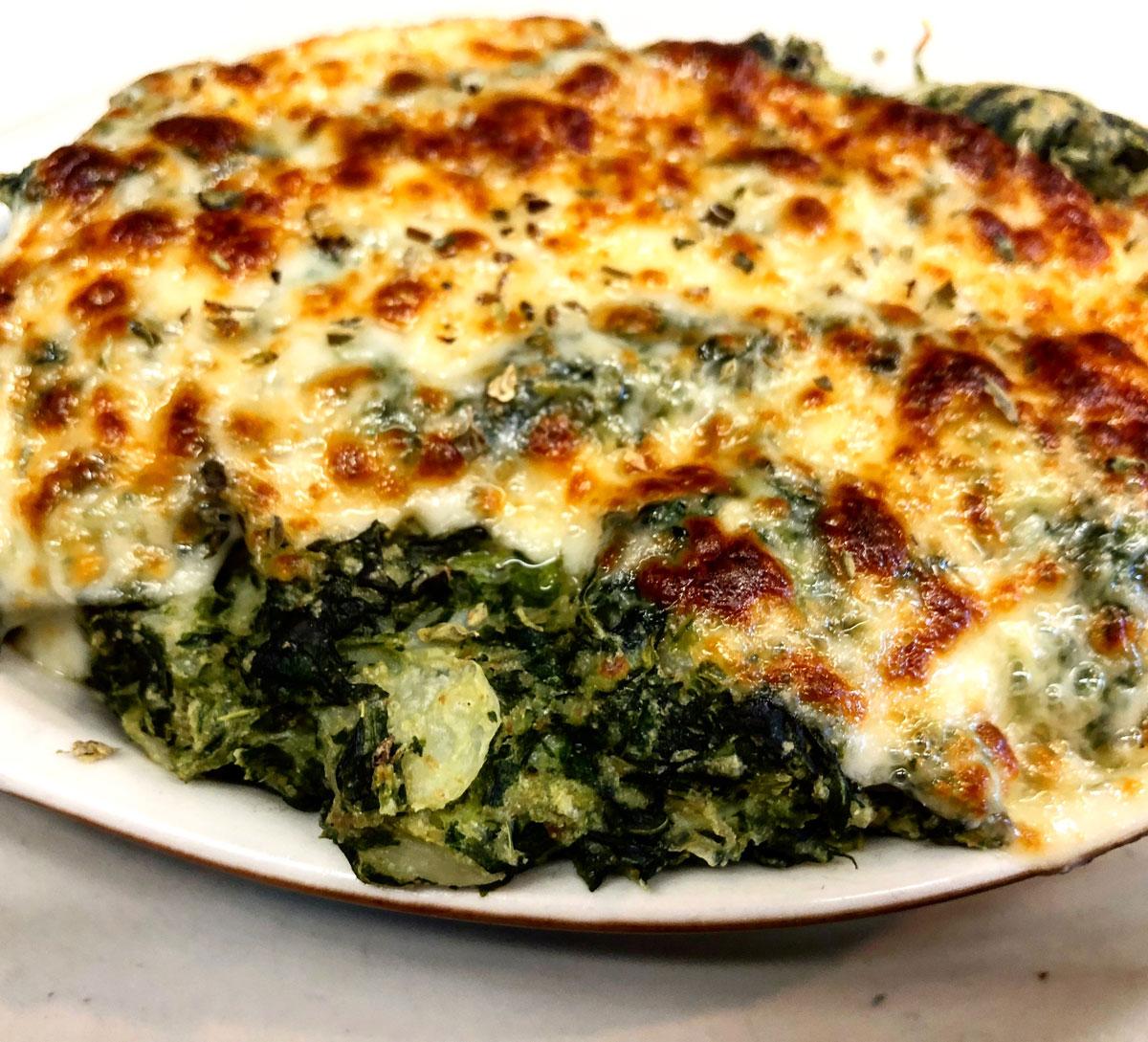 Hot Spinach & Feta Casserole