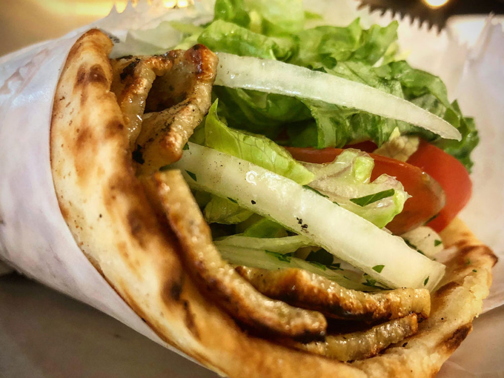 Chicken Gyro Pita Sandwich2