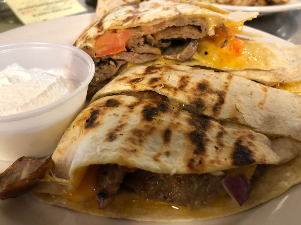 Gyro Quesadillas