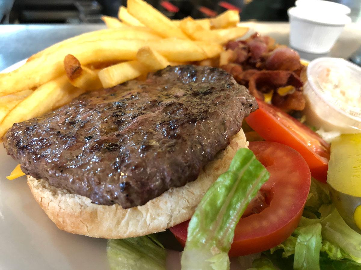 Bacon Cheese Burger